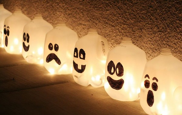HALLOWEEN RECYCLING CRAFT IDEAS