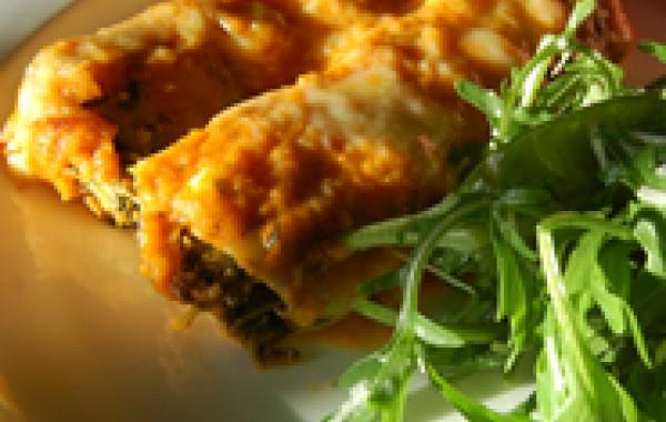 Ricotta & Spinach Cannelloni