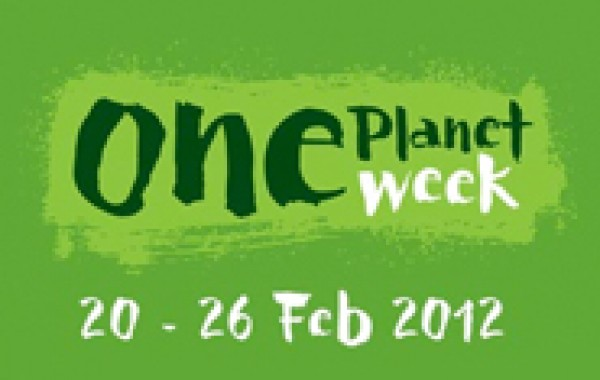 One Planet Week 20th-26th February - Reduce Your Environmental Footprint