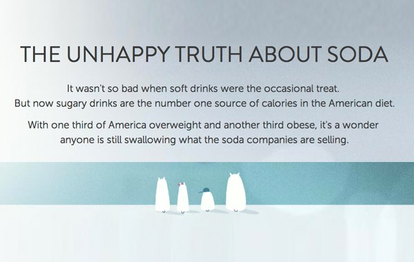 THE UNHAPPY TRUTH ABOUT SODA