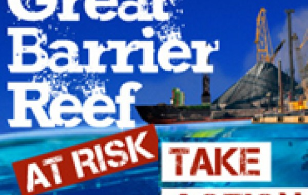 Save the Barrier Reef from Coal