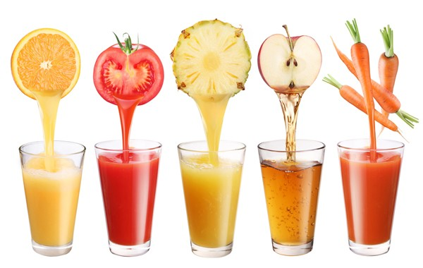 Fresh Fruit & Veggie Juices