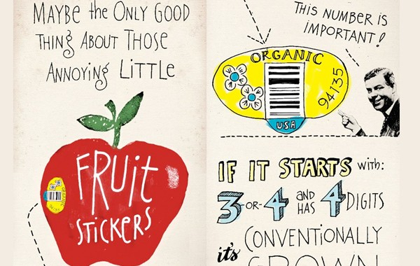 The truth about fruit stickers