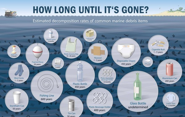 Plastic: How long until it's gone?