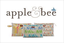 Apple & bee