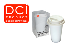 DCI Porcelain Reusable Coffee Cups