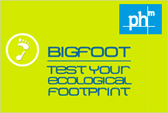 Bigfoot- Test your ecological footprint