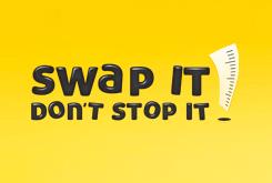 Swap it Don't stop it