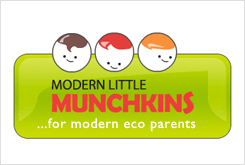 Modern little munchkins for eco parents